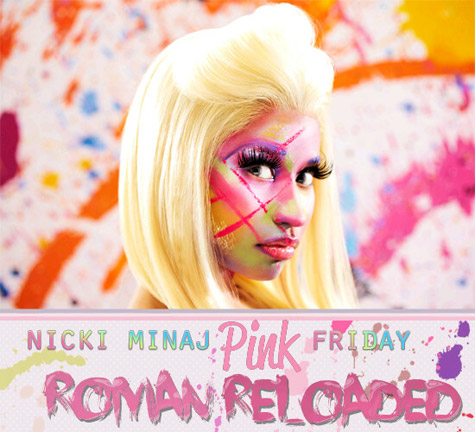 Nicki Minaj - Pink Friday: Roman Reloaded Font