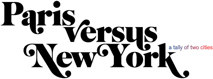 New York vs. Paris - what font?