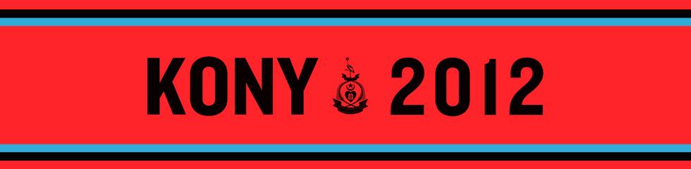 KONY 2012 Logo font   ...
