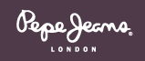 What is the font of Pepe Jeans London?