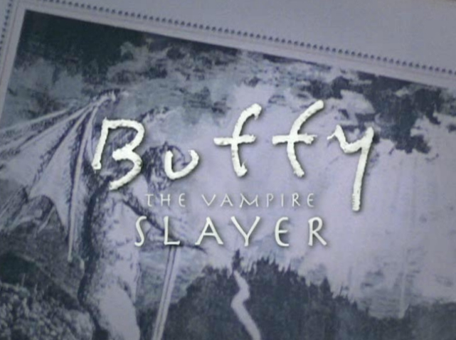 The font used for 'Buffy'