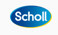 What is the font of Dr. Scholl?