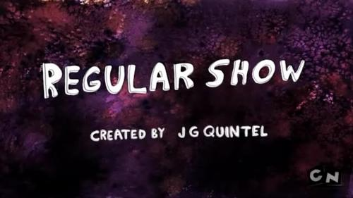 the name of this font of regular show