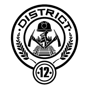 Hunger Games District Posters Font?