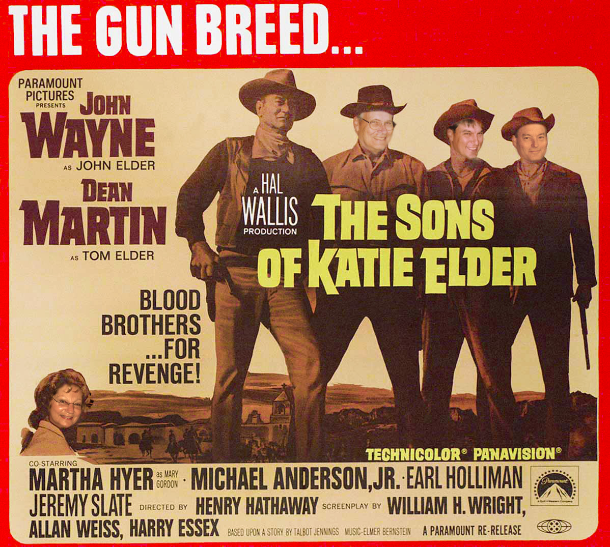 The Sons of Kate Elder movie poster