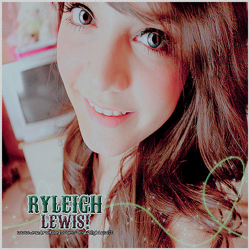 Ryleigh lewis? name of font please?(:
