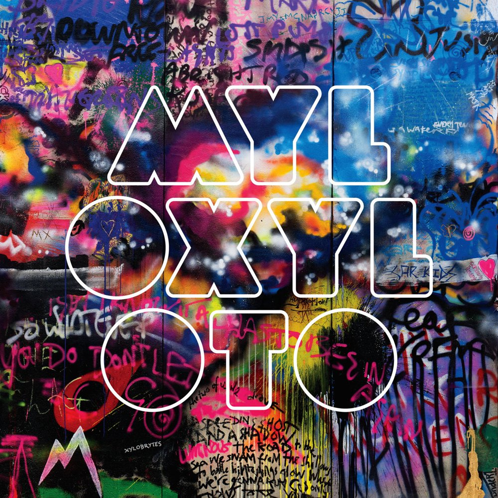 Coldplay new album font!