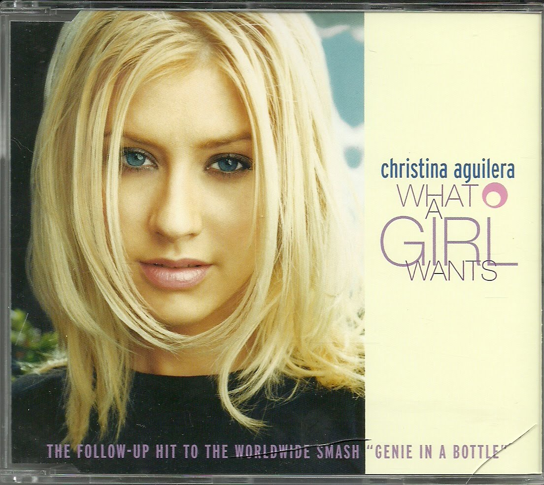 "Font Cover ""What a Girls Wants"" Xtina"