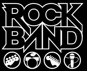 rock band font