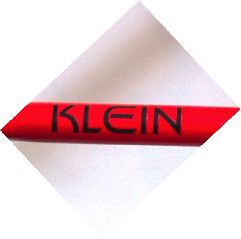 this is the logo from a KLEIN bike, I want to make white lettering/decals from it.