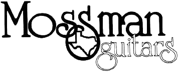 I don't know what the font for the mossman on the guitar is.  Need help!