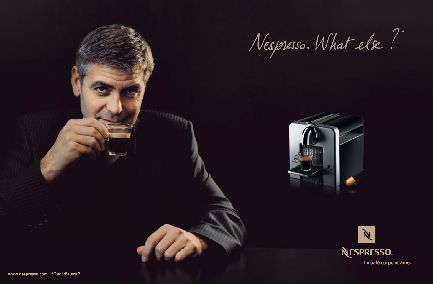 Nespresso nespresso what else font pls forum - Georges clooney what else ...