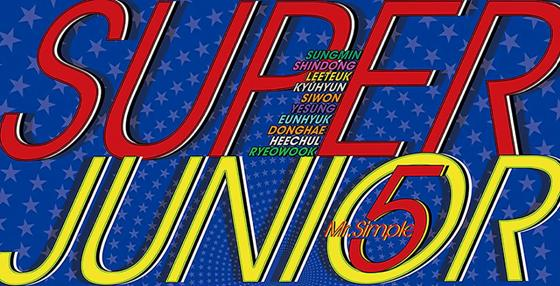 super junior's mr. simple font