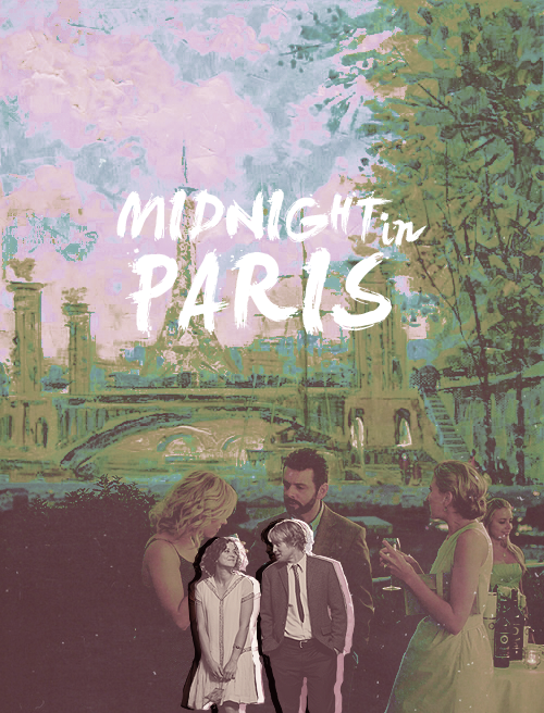 Movie font; Midnight in Paris