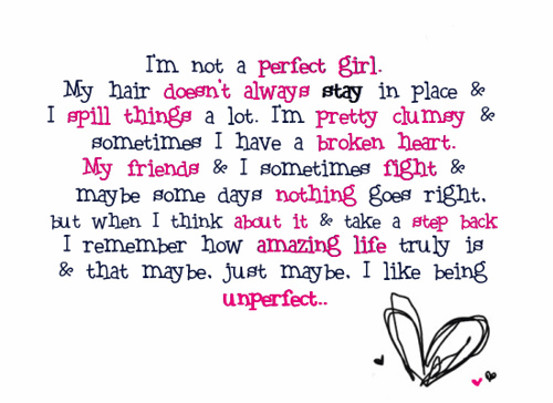 "What font is the words ""perfect girl""?"