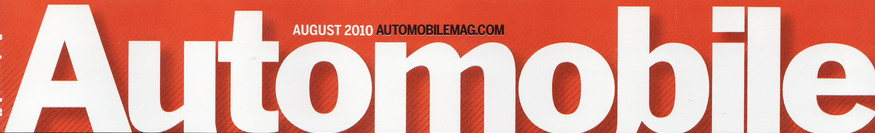 Automobile Magazine Font??