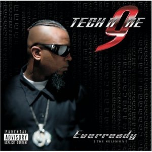 What is the Tech N9ne Everready Album font