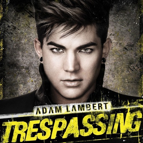 Adam Lambert Trespassing Font