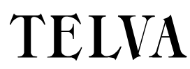What is the font of TELVA?