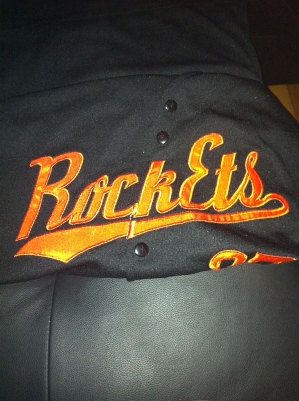 Baseball uniform font
