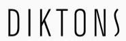 What is the font of DIKTONS?