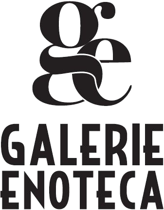 "whats the name of this font ""ge + galerie enoteca""?"