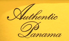 What is the font of Authentic Panama?