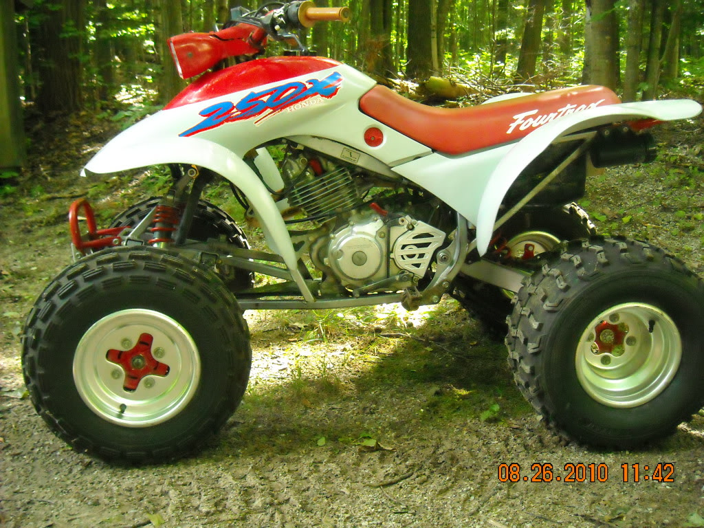 Does anyone know the font used for the 250x logo on this fourwheeler?