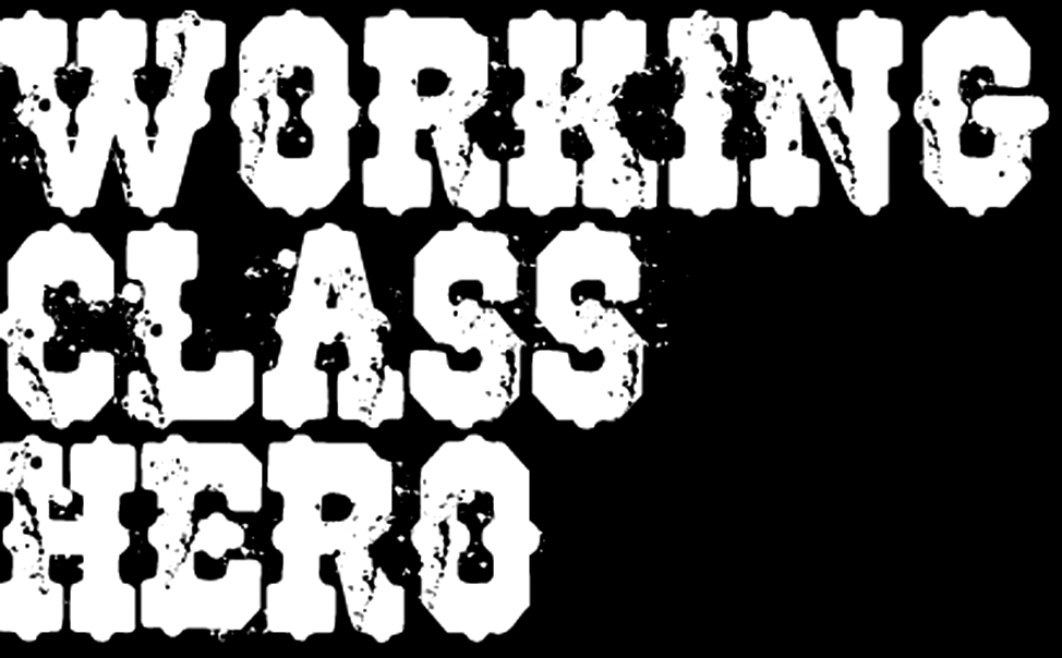 help, do you know what this font 'WORKING CLASS""