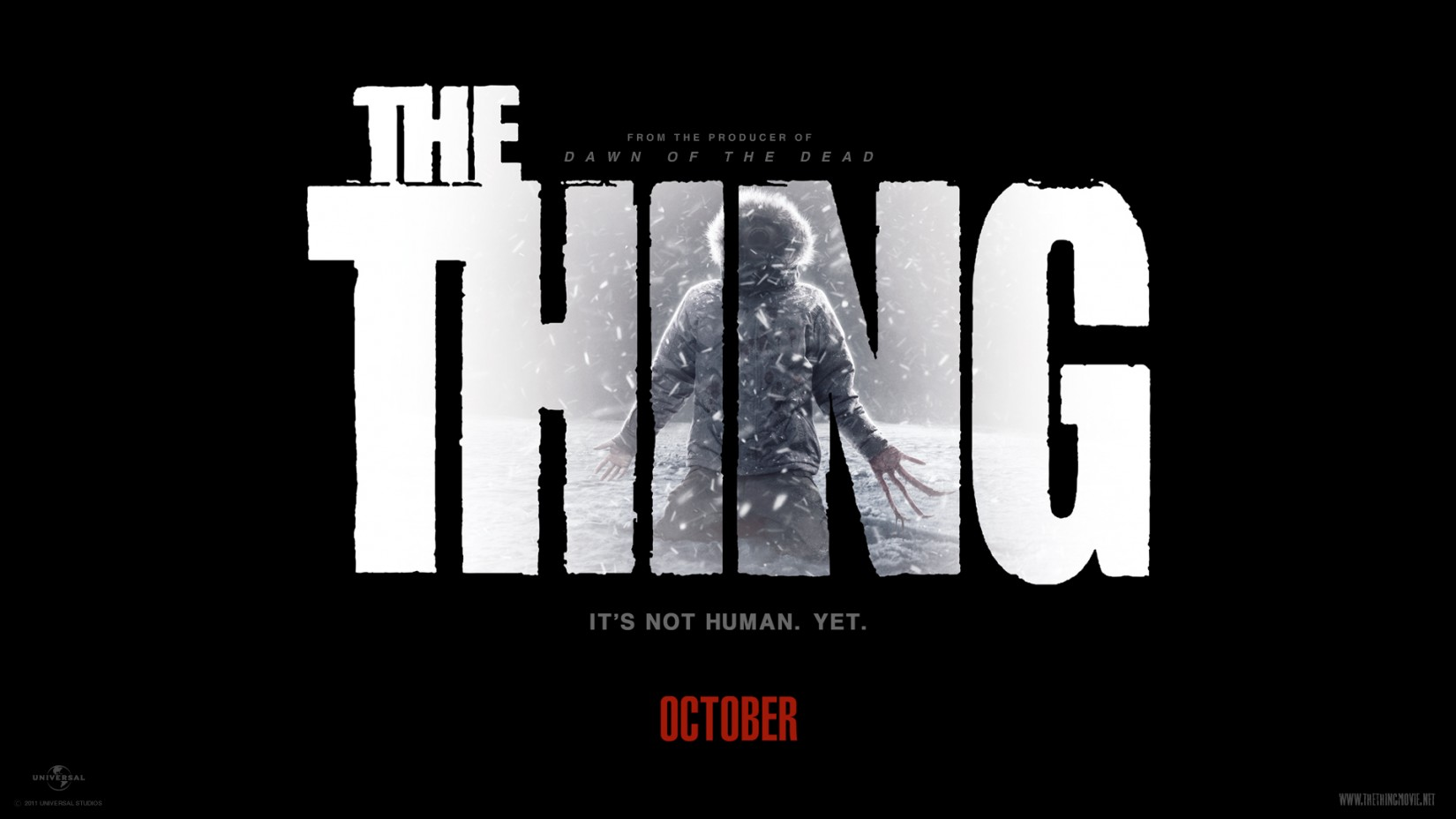 The Thing 2011 Title Font