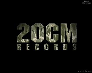 20 CM records font name
