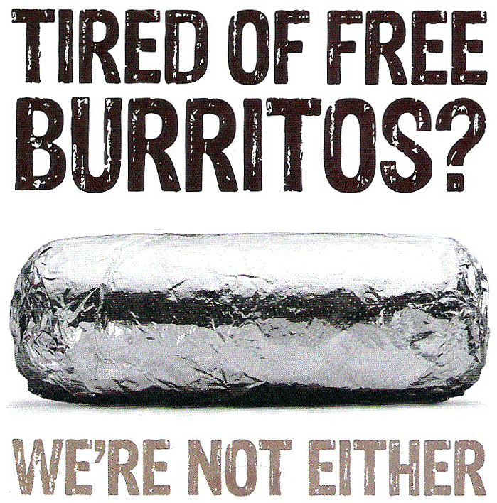 Chipotle's New Advertising Font