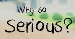 "What is this Font pls Fast ! ""Why so"" And ""Serious"""