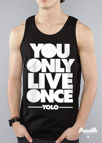 This tank top's font