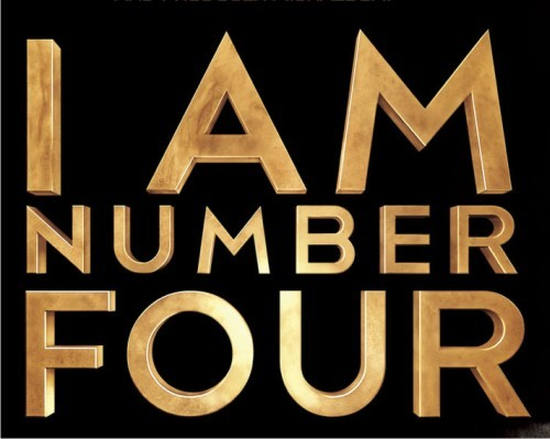 What I Am Number Four font?