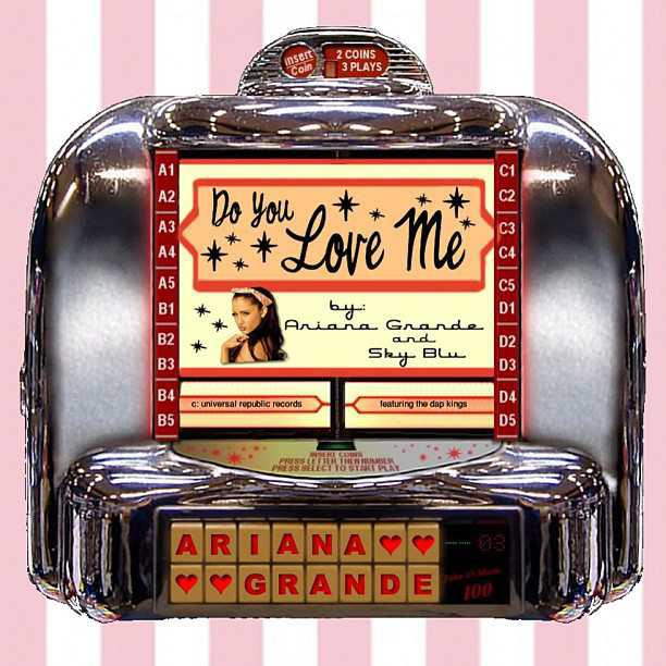 Ariana Grande ft. Sky Blu - Do You Love Me font