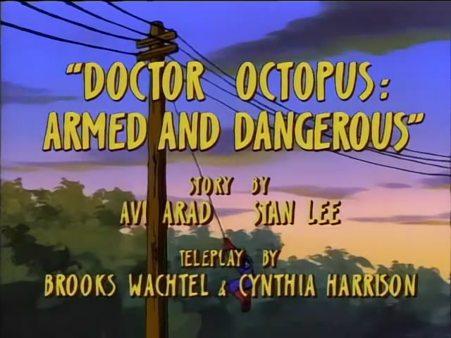 Looking for old Spider-Man font (animated TV series)