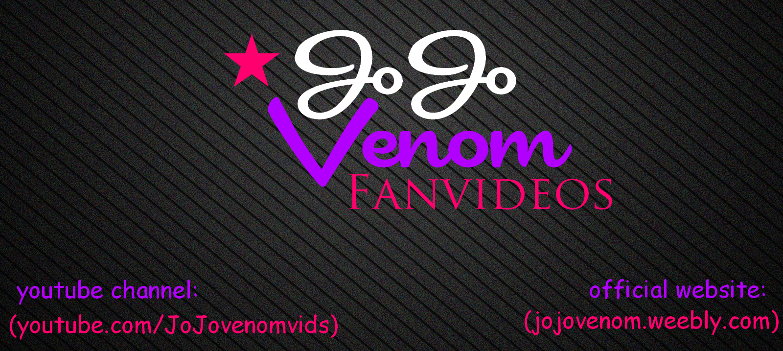 i've used this before (this is my cover) but i dont remerber the JoJo Venom font