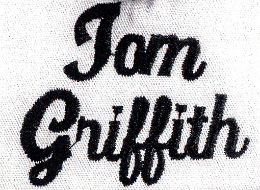 Need this Font Identified for Tom Griffith