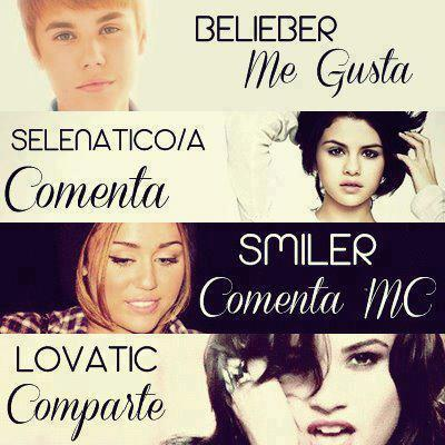 Font of Smiler, Belieber, etc and of Compartir, Me Gusta, etc
