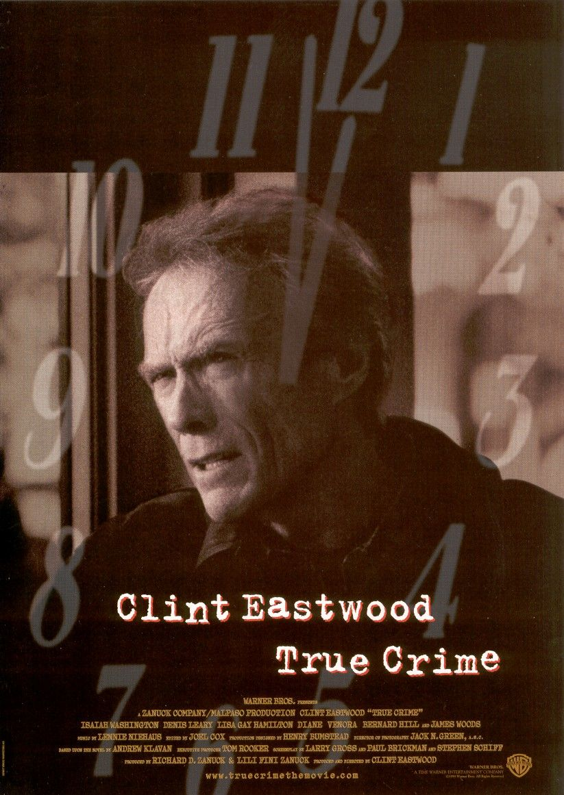 True Crime Font (Clint East Wood Movie)