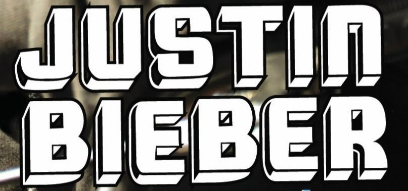 What Font Justin Bieber?