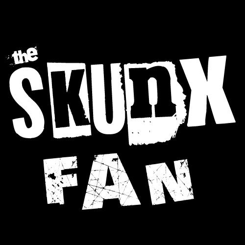 "Font of ""The Skunx"" and ""Fan"""
