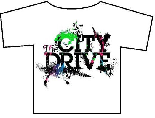 the city drive font