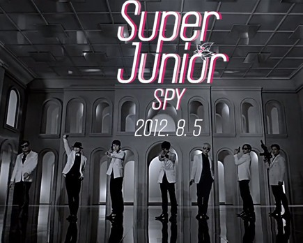 "SUPER JUNIOR ""SPY"" FONT?"