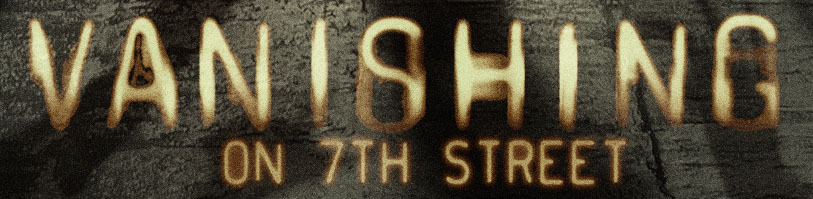 Vanishing On 7th Street font?