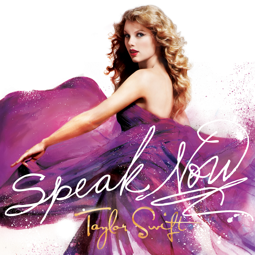 can you tell me what font is the SPEAK NOW??? thanks!