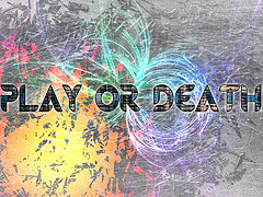 Play or Death font?