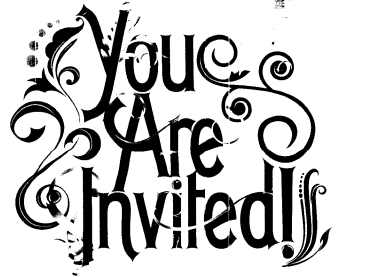 'You are invited'