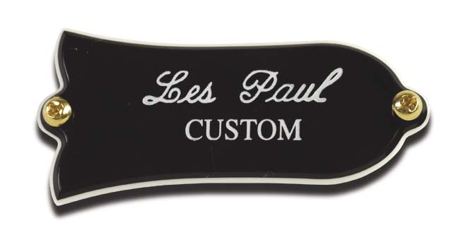 LES PAUL LOGO TRUSS ROD COVER